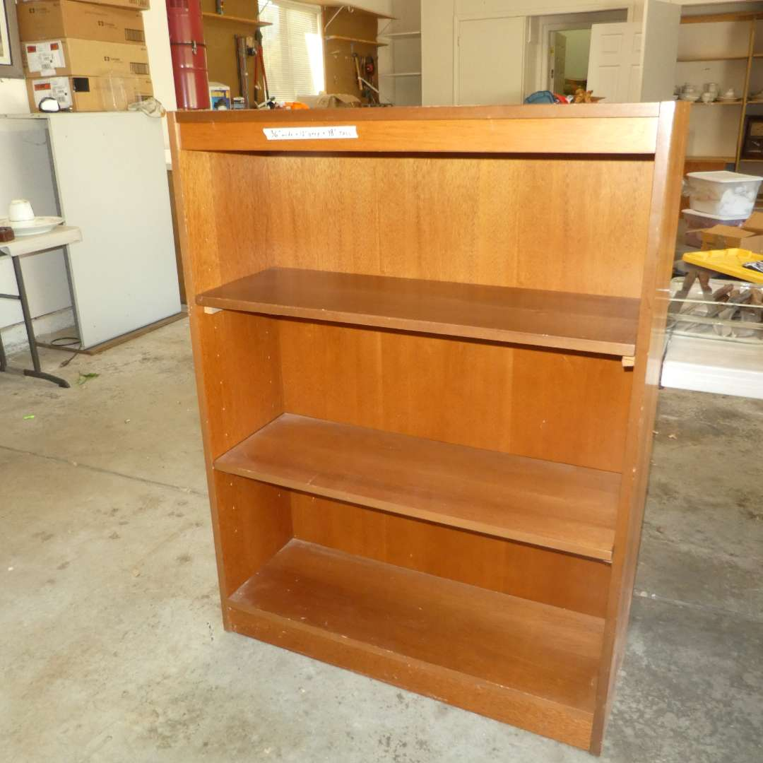 Lot # 482 - Nice Solid Wood Shelf  (main image)