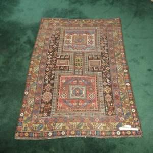 Lot # 208 - Vintage Handwoven Rug