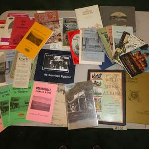Lot # 230 - Historical Northern California Paper Back Books, Mt. Shasta Photo Album and More