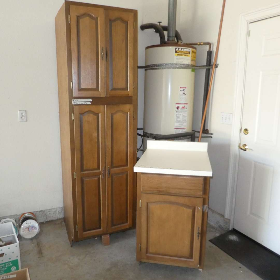 Lot # 491 - Used Cabinets (Were Taken out of Previous Kitchen) (main image)