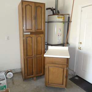 Lot # 491 - Used Cabinets (Were Taken out of Previous Kitchen)