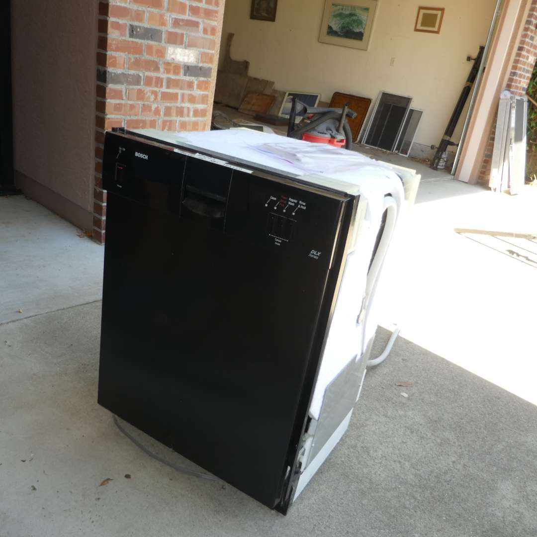 Lot # 493 - Bosch DLX Series Dish Washer  (Powers Up, Not Tested) (main image)