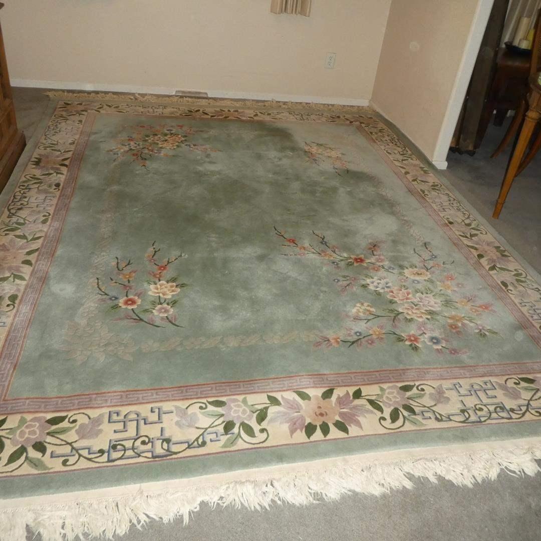Lot # 103 - Oriental Large Wool Area Rug (main image)
