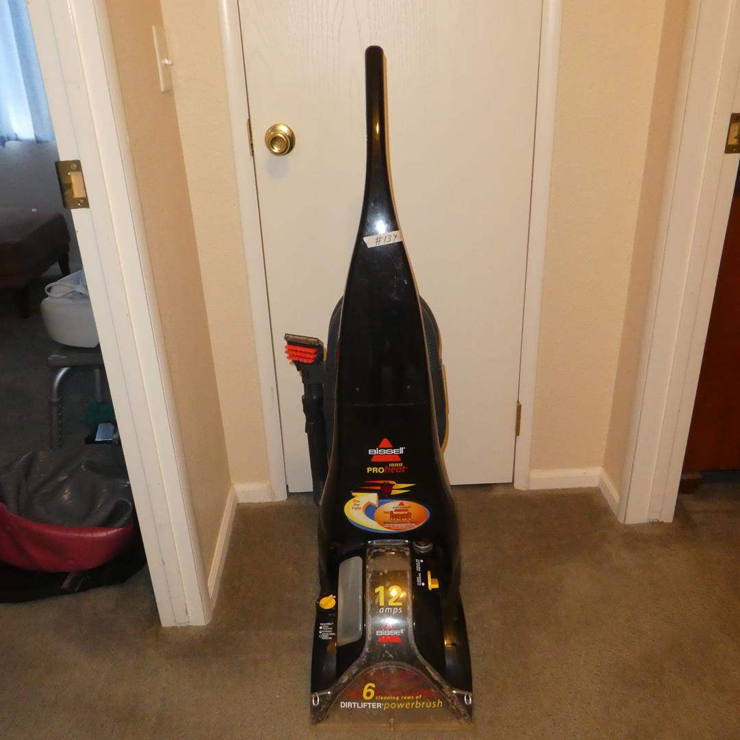 Lot # 134 - Bissell Pro Heat Carpet Cleaner