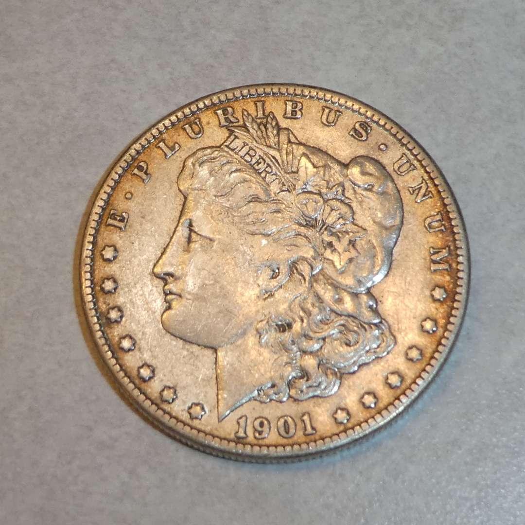Lot # 68 - 1901-O Morgan Silver Dollar Coin  (main image)