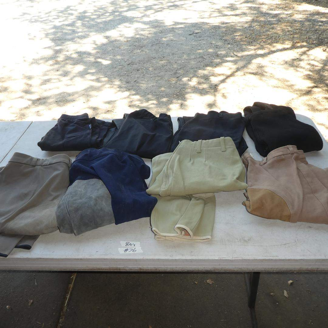 Lot # 76 - Eight Ladies Riding Pants - See Pics For Sizes (main image)