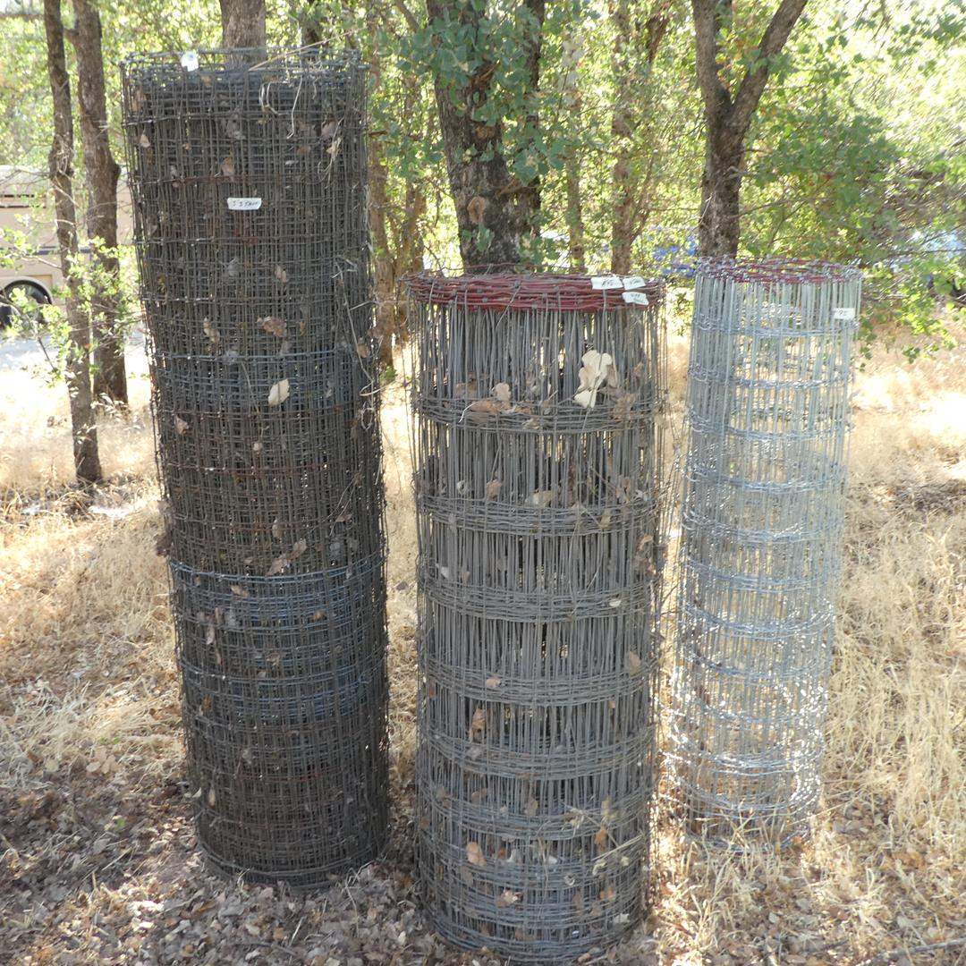 Lot # 95 - Three Roles Wire Fencing (main image)