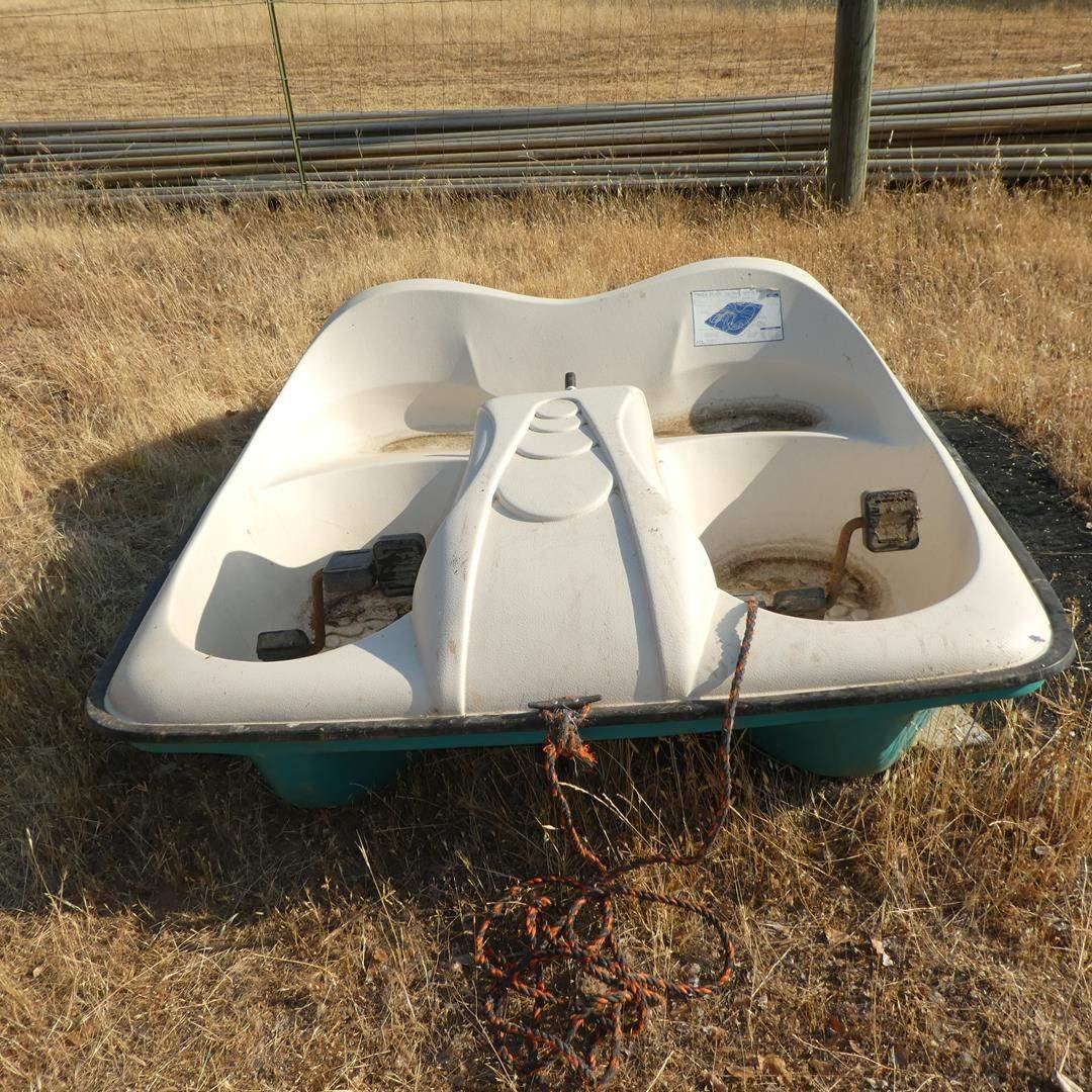 Lot # 99 - Playmate 7' x 5' Pedal Boat (main image)