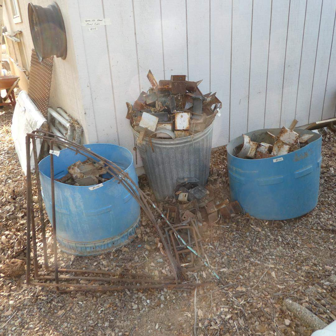 Lot # 102 - Approx. 150 Steel Jump Cups (main image)