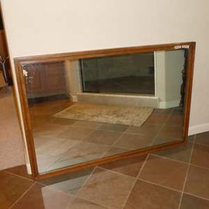 Lot # 267 - Vintage Wood Framed Drexel Wall Mirror