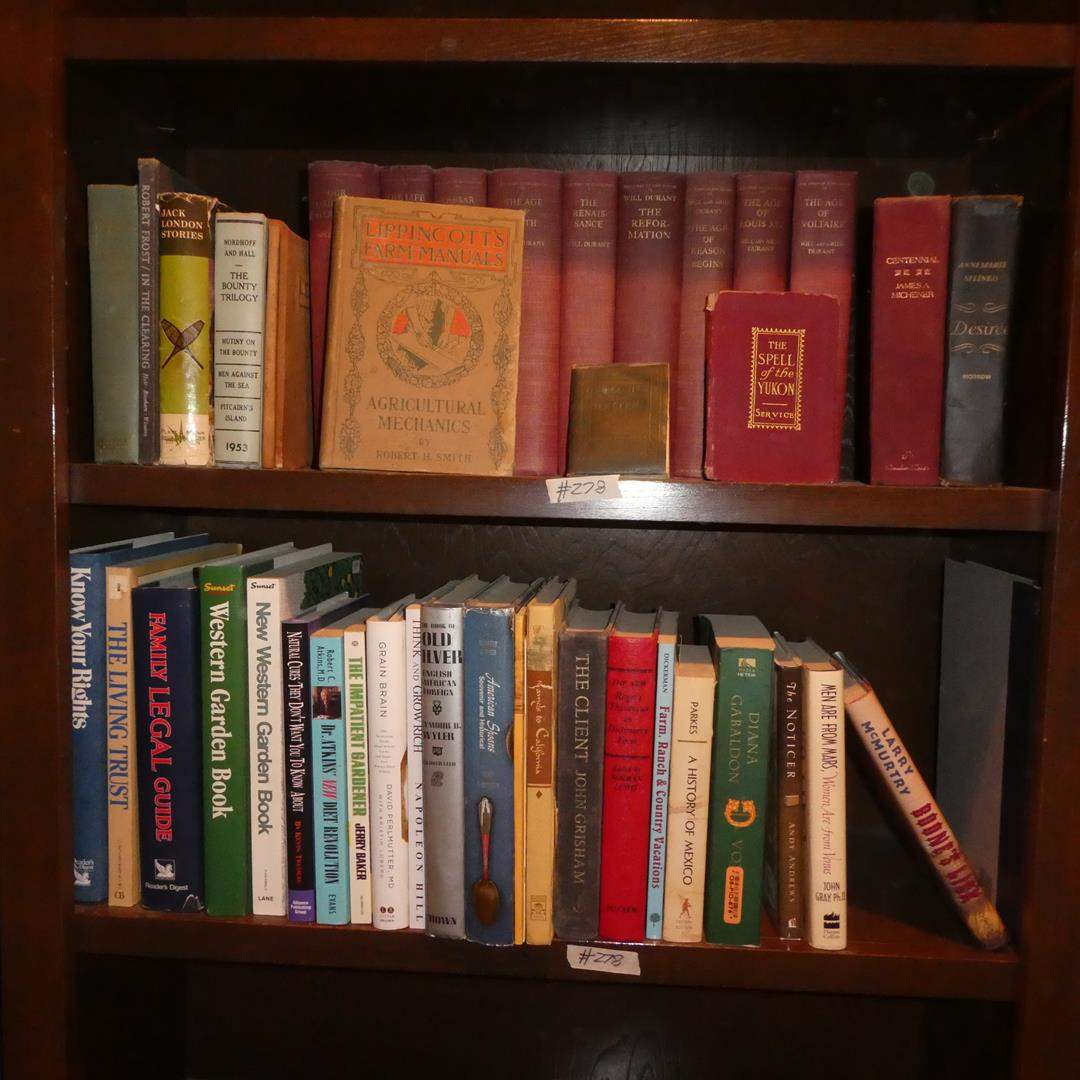 Lot # 278 - Vintage/Antique Books & Other Books
