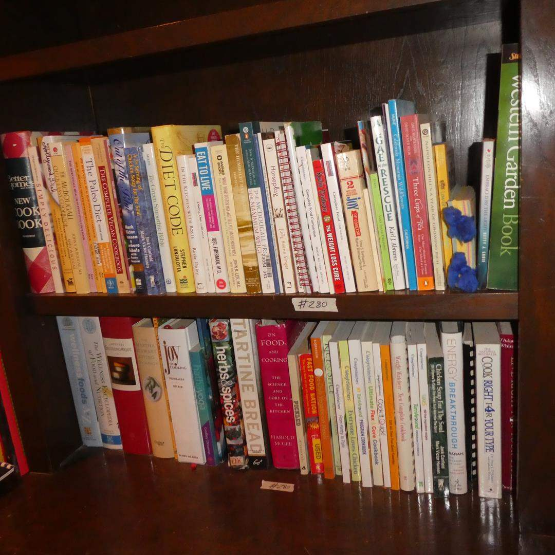 Lot # 280 - Cookbooks Collection (main image)