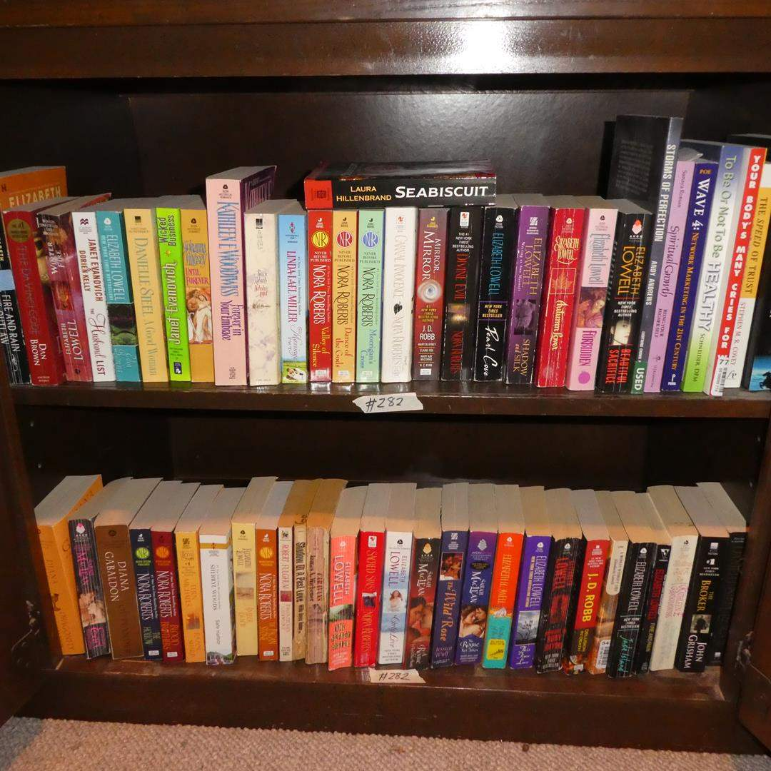 Lot # 282 - Assorted Paperback Books (main image)