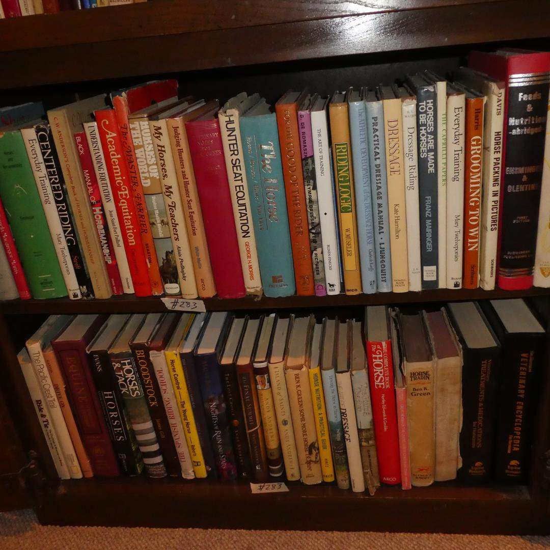 Lot # 283 - Variety of Horse Informational Books (main image)