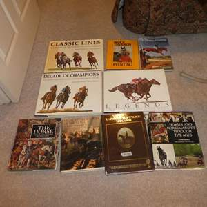 Lot # 285 - Horse Coffee Table Books