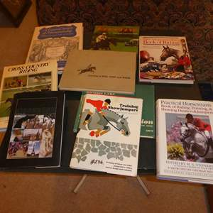 Lot # 286 - Horse Coffee Table Books