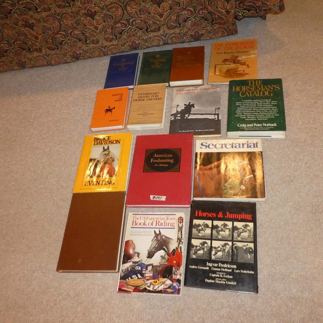 Lot # 287 - Horse Informational Books (main image)