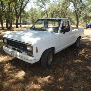 Lot # 128 - 1986 Ford Ranger 5 Speed Transmission - Just Smogged & Non-Oped - Watch Video