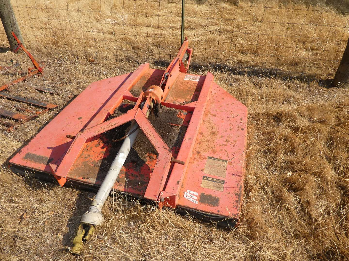 """Lot # 127 - 52"""" Mower Deck - 3 Point Hitch  (main image)"""