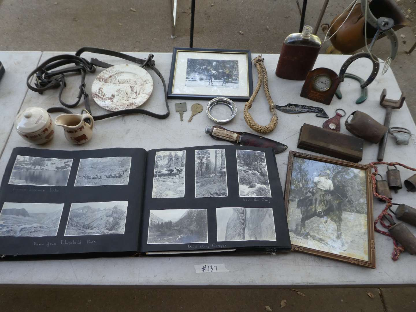 Lot # 137 - Antique & Vintage Western Collectible Lot & Old Photos (main image)