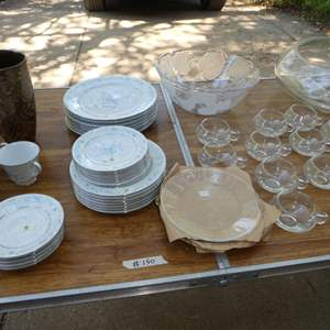 Lot # 150 - Vintage Party, Punch Set, China & More