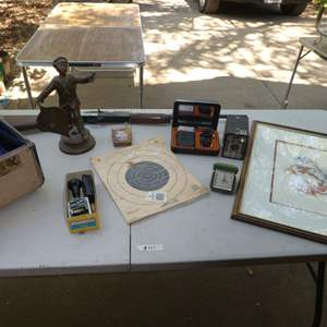Lot # 151 - Nice Old Western Print & Collectibles