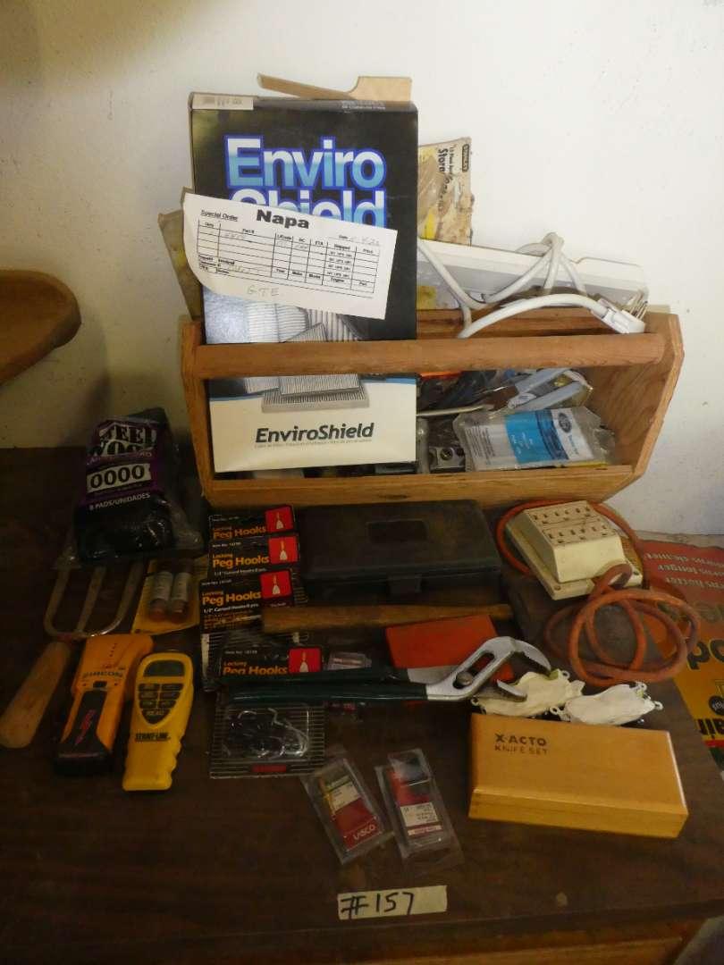 Lot # 157 - Misc Hand Tools Lot (main image)