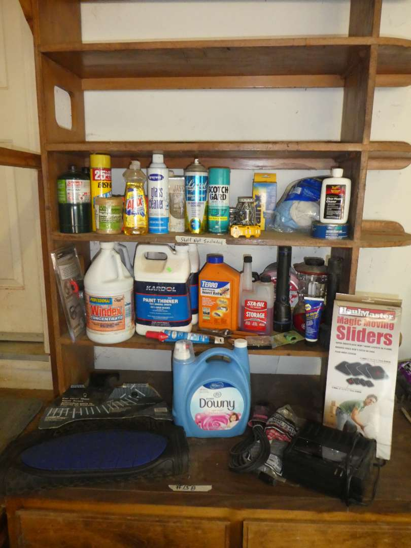 Lot # 158 - Household Products - Half Full or Better  (main image)