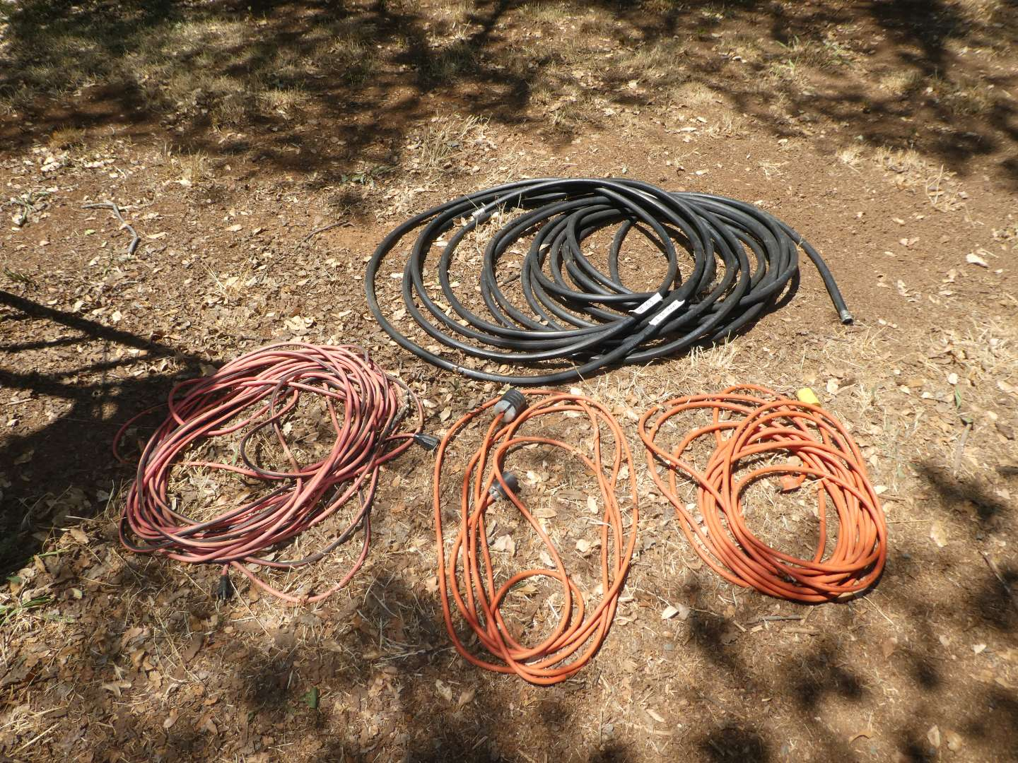 Lot # 163 - Electrical Cords  (main image)