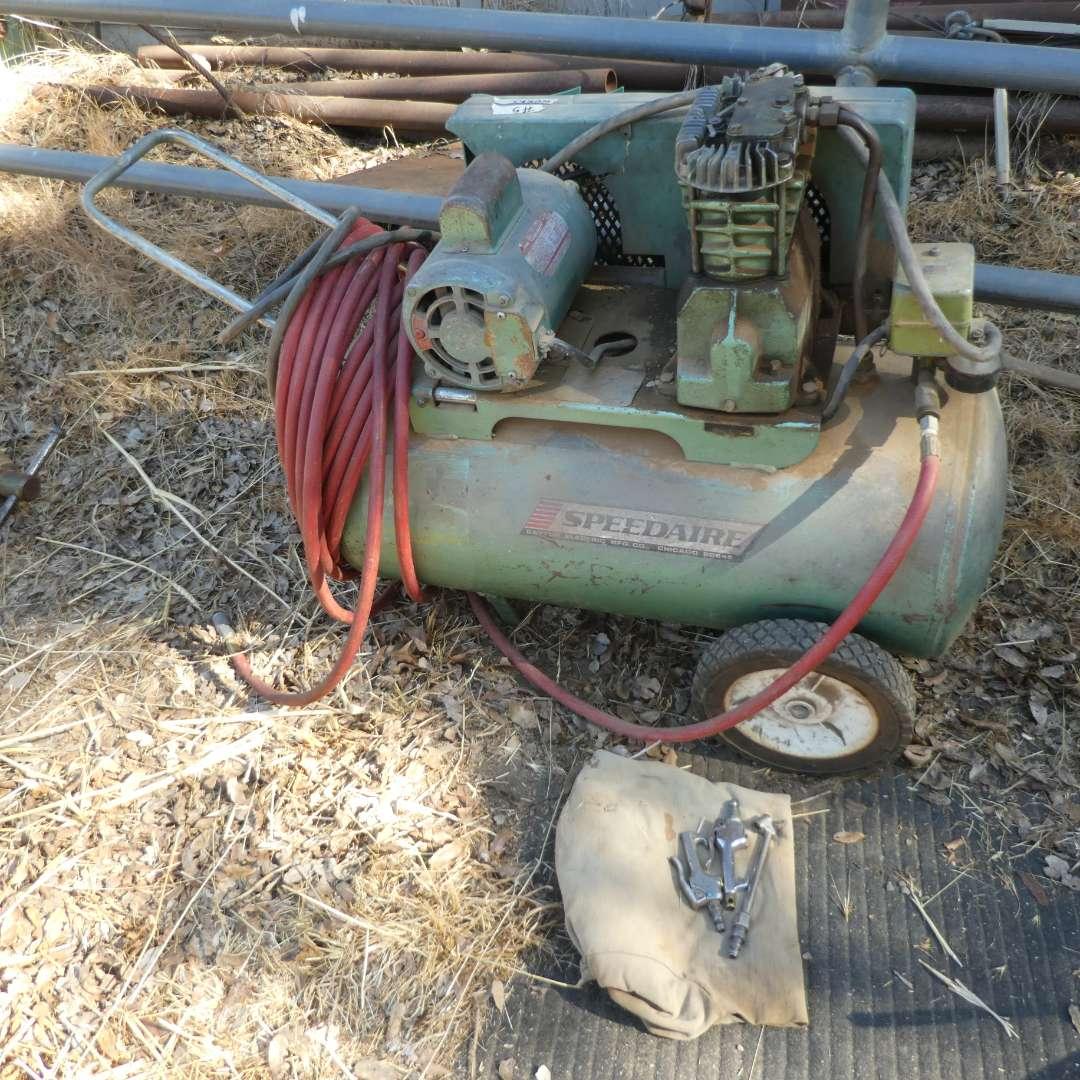 Lot # 5 - Speedaire Air Compressor (Model 9K324E) (main image)