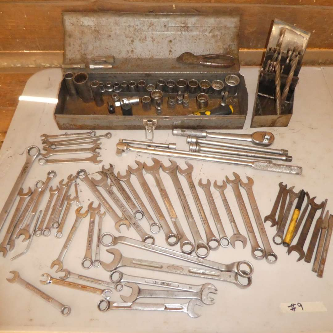 Lot # 9 - Assorted Wrenches (main image)