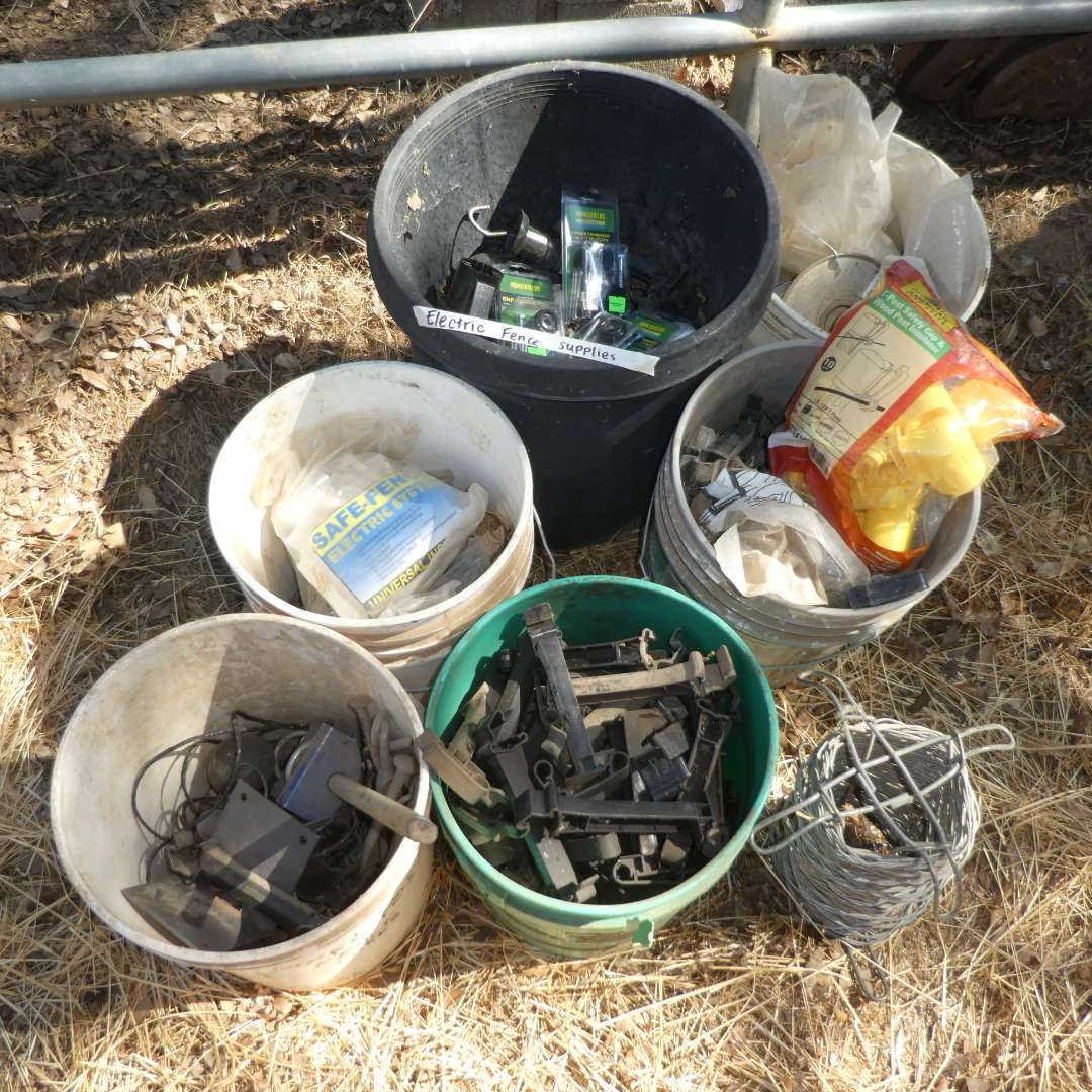 Lot # 13 -  Electric Fence Supplies (main image)