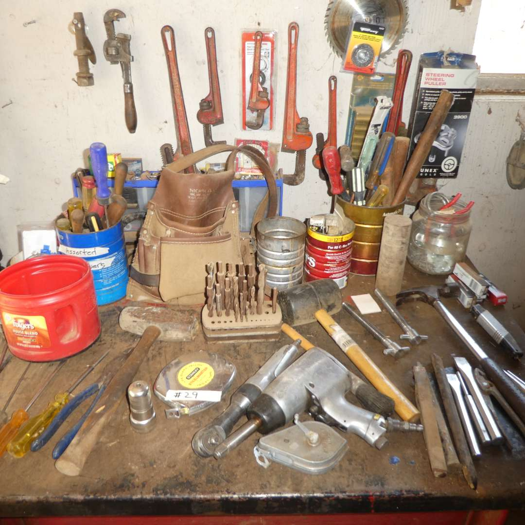 Lot # 29 - Variety of Hand Tools