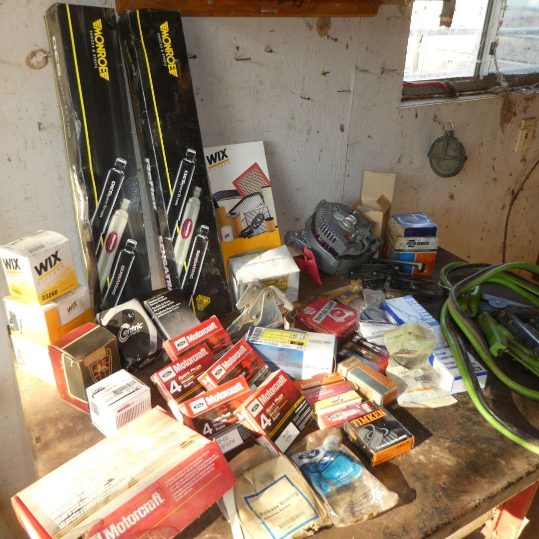 Lot # 35 -  Assortment of Auto Parts (See all Pics) (main image)