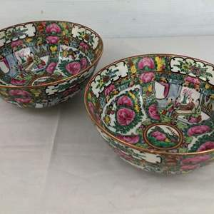 Lot # 3 - 2 Chinese Decorated Bowls