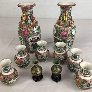 Lot # 8 - Lot of Asian Vases