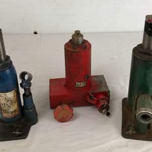 Lot # 9 - Vintage Hydraulic Jacks