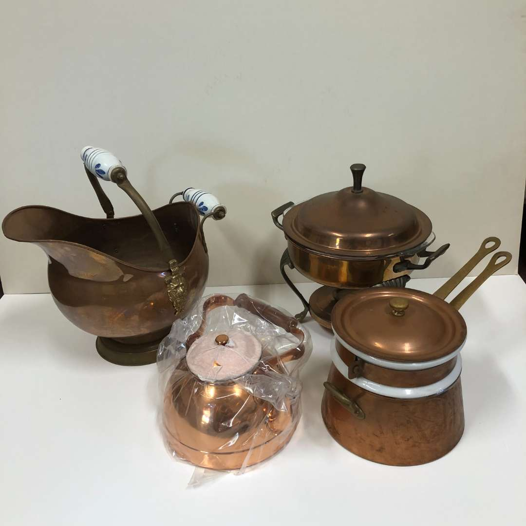 Lot # 16 - Collection of Copper Items (main image)