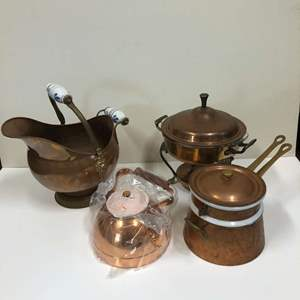 Lot # 16 - Collection of Copper Items