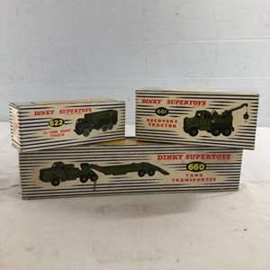 Lot # 40 - Vintage Dinky Toys