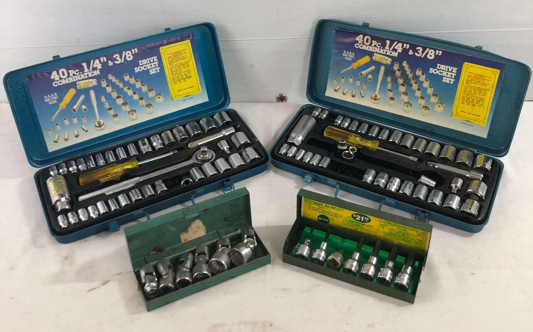 Lot # 43 - 4 Socket Sets  (main image)