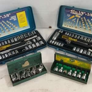 Lot # 43 - 4 Socket Sets