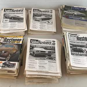 Lot # 48 - Lot of Over 200 AutoRestorer Magazines