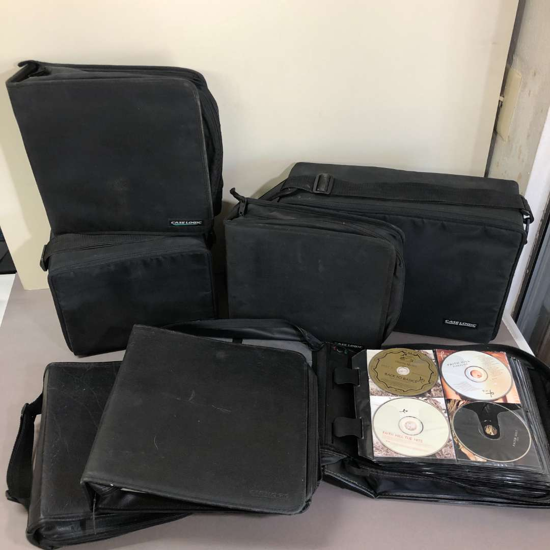 Lot # 26 - Large collection of CDs (in cases) - 90+ CDs (main image)