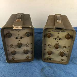 Lot # 64 - Lot of 2 Jerrold Model 601 Sweep Frequency Generators