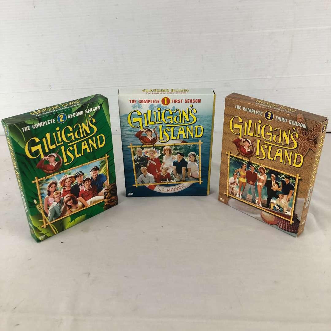 Lot # 145 - Gilligan's Island Complete 3 Seasons DVD Sets (main image)