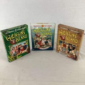 Lot # 145 - Gilligan's Island Complete 3 Seasons DVD Sets
