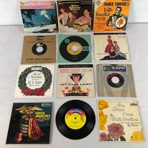 Lot # 150 - Lot of 45 RPM Speed Vinyl Records