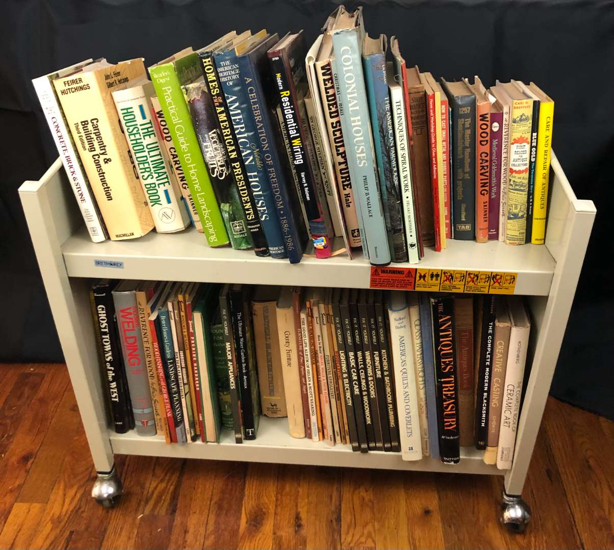 Lot # 156 - Large Lot of Household and Craft Books (main image)