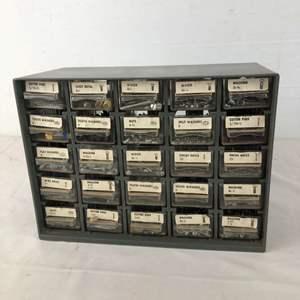 Lot # 164 - Parts Storage Drawer Full of Hardware